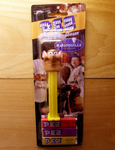 pez - ratatouille the movie