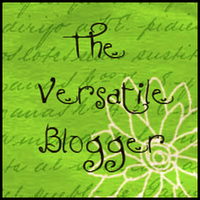 versatile blogger nomination