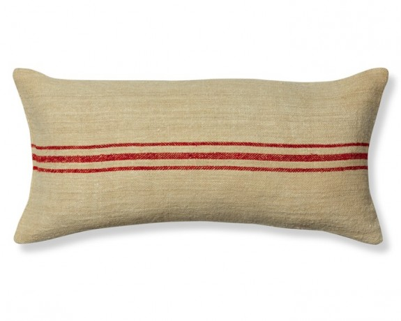 williams-sonoma grain sack pillow