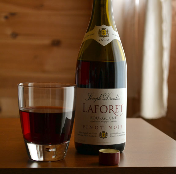 laforet 2010 burgundy pinot noir wine